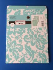 Floral Turquoise Martha Stewart Home Office with Avery~,A4-Vertical File Folders