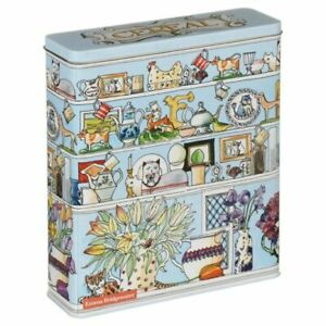 OFFICIAL EMMA BRIDGEWATER SETTING UP HOME TALL CEREAL STORAGE TIN CONTAINER NEW