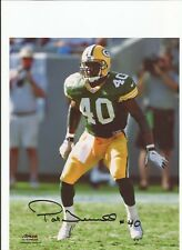 Green Bay Packers Pat Terrell Autographed Photo w/ COA