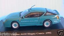 ALPINE RENAULT A610 MAGNY COURS 1992 ELIGOR 1/43 VERT