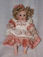 "Precious 8"" Tiny Tots Marie Osmond Porcelain Doll 2005"