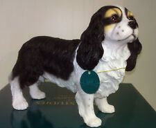 Large Dog Studies by Leonardo Cavalier King Charles Spaniel Figurine Ornament