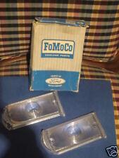 1967 FORD GALAXIE PARK LAMP LENSES SET NOS