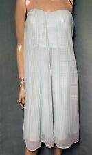 French Connection $218 Shelby Sparkle Strapless Dress (Surf Spray/Silver) 0 NEW