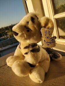 NEOPETS! NEW NWT RARE 2002 JUMBO White KOUGRA Plushie Toy LIMITED TOO