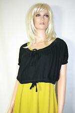 Cora Kemperman Designer T- Shirt  Gr M Lagenlook Bio- Baumwolle Schwarz %%%