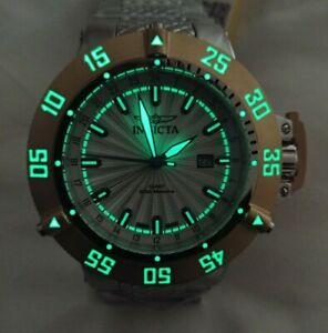 Invicta 21729 50mm 'PROJECT ABDA' SUBAQUA NOMA III GMT Swiss Quartz w/ DIVE CASE