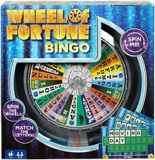 Wheel of Fortune Bingo Game - Spin The Wheel Match The Letters Children's Game