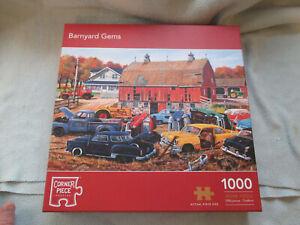 Kevin Walsh 1000 Piece Jigsaw Corner Piece Puzzles Barnyard Gems