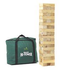Garden games mega hi-tour dans un sac-géant 0.9m - 2.3m (max.) tour en bois bloc