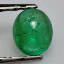 Gioielli e gemme di smeraldo verdi cabochon
