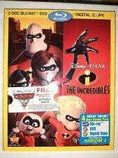 Disney Pixar The Incredibles [Bluray / Dvd / Slipcover]