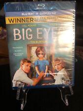 Big Eyes ( Blu-Ray + UV + HD Digital Copy, 2015) Mfg. Sealed