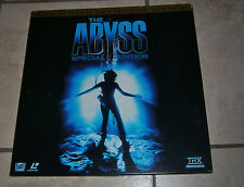 Laserdisc Widescreen Letterbox Edition ABYSS Very nice condition Laser Disc