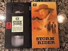 Storm Rider Vhs! 1972 Western! My Name Is Nobody Massacre Time Django
