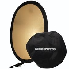 Manfrotto Avenger I3834 Oval Reflector Silver Gold Folding 95 x 70