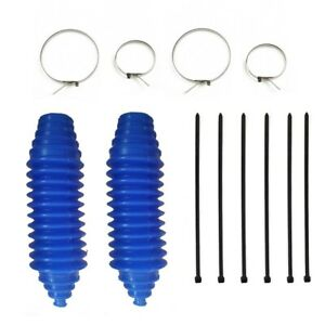 Gaiter Pinion Boot 2 Set Silicone Rack And Pinion Steering Boot Kit High Quality