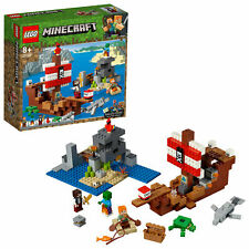 LEGO Minecraft The Pirate Ship Adventure Toy 21152
