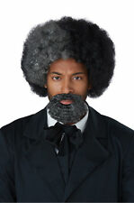 Frederick Douglass Adult Wig & Beard Historical Statesman Abolitionist Author
