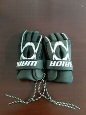 "Youth Black Warrior ""Tempo"" 12"" Lacrosse Pair of Gloves, Good Condition!"