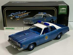 Smokey and the Bandit Plymouth Fury Police Greenlight 19044 1:18 Scale