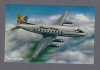 CHANNEL AIRWAYS VICKERS VISCOUNT AIRLINE ISSUE POSTCARD