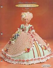 DELILAH Annie's Glorious Gowns OLD SOUTH COLLECTION Crochet Pattern Fashion Doll