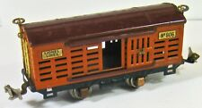 Lionel 806 Stock Car Orange Maroon GOOD CONDITION