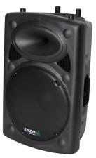 """IBIZA SLK15 PROFESSIONELLER 15"""" LAUTSPRECHER 700W ANLAGE SOUND BOX EVENT DJ"""