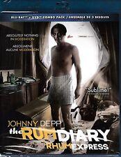 NEW BLU-RAY - DVD COMBO  // THE RUM DIARY // Johnny Depp, Aaron Eckhart,