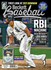 NEW DECEMBER 2020 BECKETT BASEBALL PRICE GUIDE MAGAZINE w/ JOSE ABREU COVER