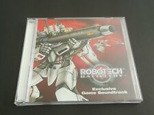 Robotech Battlecry Video Game Soundtrack Audio Cd Exclusive.