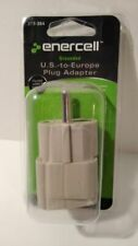 Enercell Grounded U.S.-To-Europe Plug Adapter 273-364