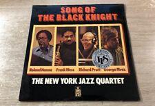 LP Sonet SNTF 753 The New York Jazz Quartet – Song Of The Black Knight 1978