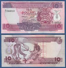 SOLOMON ISLANDS 10 Dollars (1986) UNC  P.15