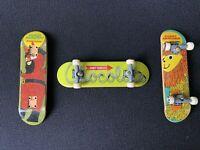 Tech Deck Vintage Finger Board Skateboards Chocolate