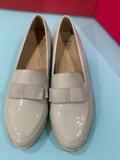 ZIERA Comfortable Loafer Patent Leather Size 42XF New Condition