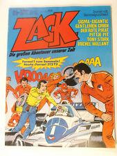 ZACK 1979 Nr.  8 ( Koralle ) mit Formel 1 Sammelbild, mit Sammelecke