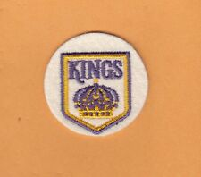 OLD 1st LOGO LOS ANGELES KINGS STITCHED 2 inch PATCH UNSOLD STOCK