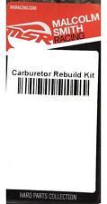 MSR Carburetor Carb Rebuild Kit for Yamaha 1998-99 WR 400F WR400F 343755