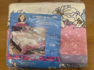 Vintage New Disney Cinderella Beacon Blanket- Twin/ Full