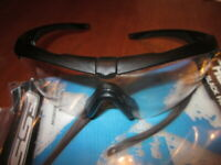 NEW ESS Crossbow Glasses Eyeshields Black  Genuine US Military Surplus Clear