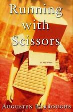 RUNNING WITH SCISSORS by Augusten Burroughs hardcover book FREE SHIPPING memoir