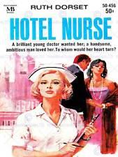 Copertina Libro Hotel Infermiera Pulp Fiction ROMANZO D'AMORE CUORE Dottore USA Stampa cc321