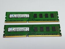 Barrette mémoire / Memory module Samsung 4Go (2x2Go) 4GB PC3-10600U DDR3 1333