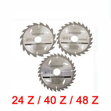 Hartmetall Sägeblatt Set 235 x 30 mm Z24 Z40 Z48 für HITACHI Handkreissäge C9BU2