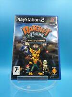 jeu video sony PS2 playstation 2 complet TBE PAL VF ratchet et clank la taille