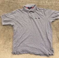 Vintage Polo Sport Spell Out Size XL Snow Beach P Wing collared golf Stadium 92