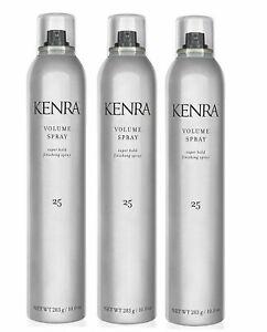 Kenra Volume Spray Hair Spray  #25      10oz Pack of 3 set