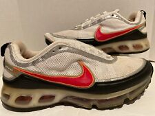 Nike Air Max 360 White Black Orange Silver Men's Size 11.5 US Rare 315380-161